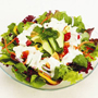 Pourable Dressing with Salad